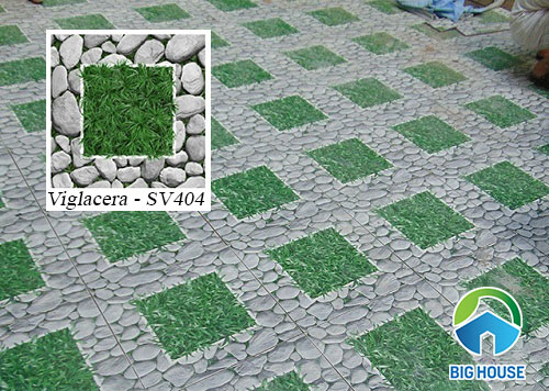 gạch cỏ Viglacera SV404