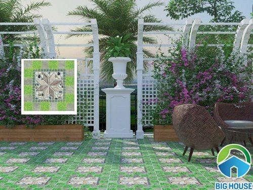 gạch sân vườn Viglacera 50x50 5522