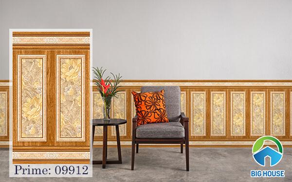 Gạch ốp chân tường Prime 09912 kích thước 50x86 của Prime họa tiết giả gỗ