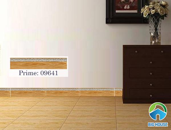 Gạch ốp vân gỗ Prime 09641 màu nâu vàng vân gỗ ấm cúng