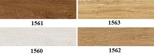 Gạch ốp chân tường thấp vân gỗ Tasa 15x60