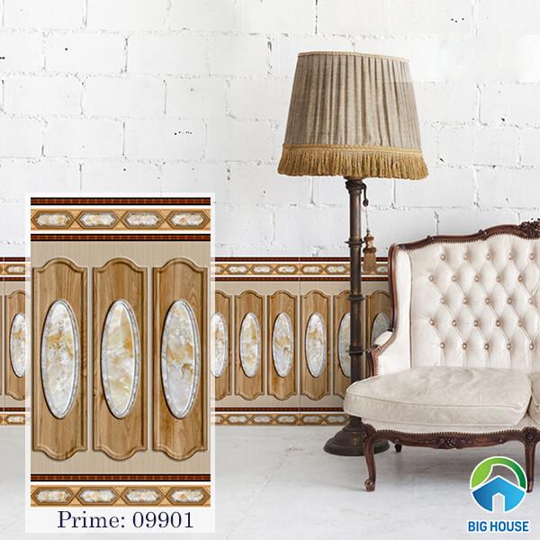 Gạch ốp chân tường cao Prime 09901 kích thước 50x86 cm, bề mặt nhẵn bóng