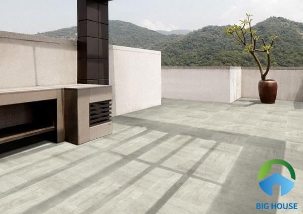 Gạch lát sân thượng chống thấm