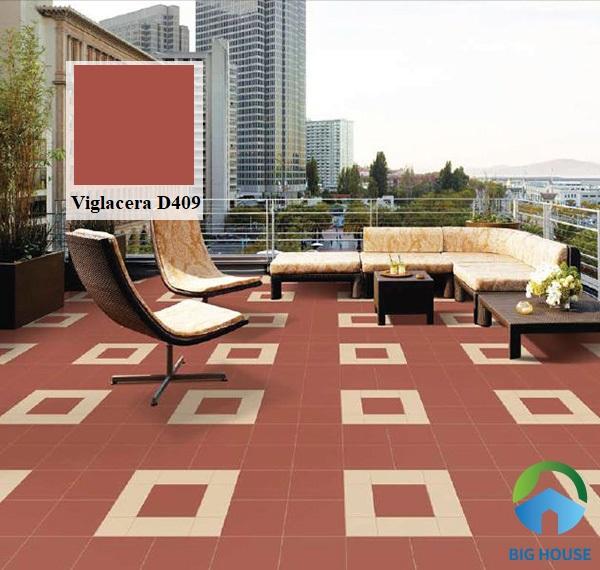 Gạch đỏ lát nền Viglacera D409 có khả năng chống nóng rất tốt