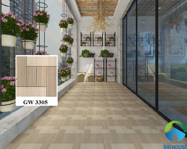 Gạch lát sân thượng chống thấm Viglacera GW3305