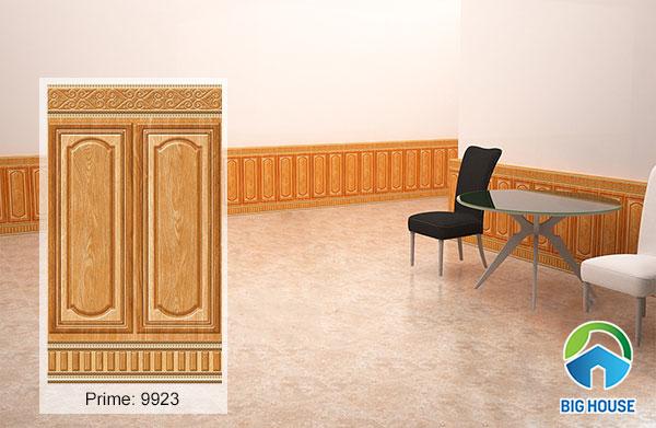 Gạch ốp chân tường vân gỗ prime 50x86cm mã 9923