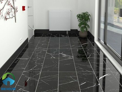 Mẫu gạch vân đá lát sàn màu tối kích thước 60x120