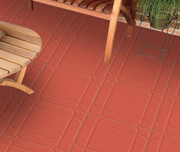 Mẫu gạch đỏ cotto lát sân