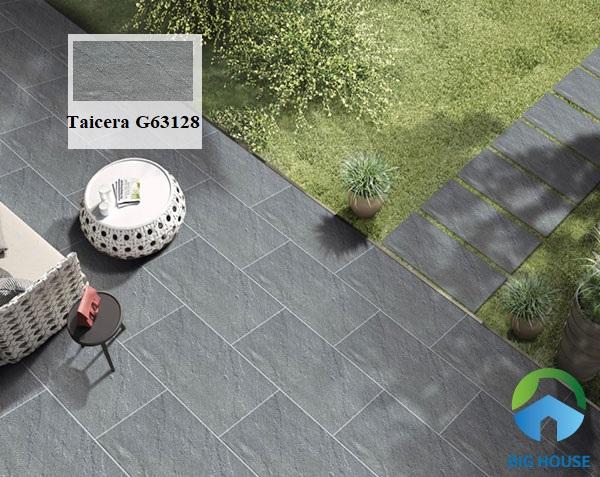 Mẫu gạch lát sân vườn chất liệu granite chịu lực tốt