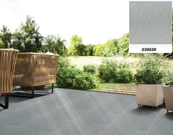 Mẫu gạch lát sân vườn đơn giản