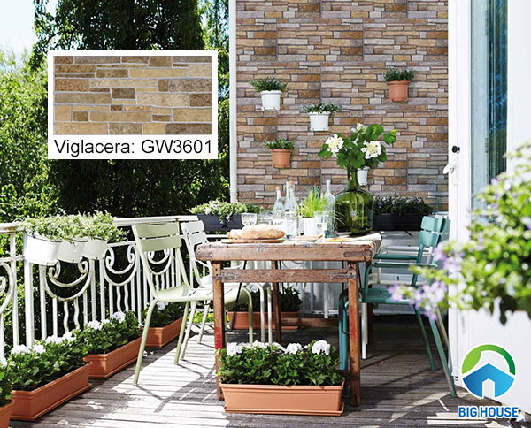 gạch ốp tường giả đá Viglacera GW3601