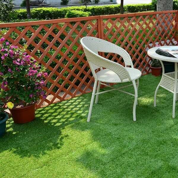 Mẫu gạch cỏ mang vẻ đẹp tự nhiên, tươi mát đầy sức sống