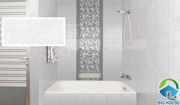 Gạch ốp nhà vệ sinh Đồng Tâm 2560LEAF002