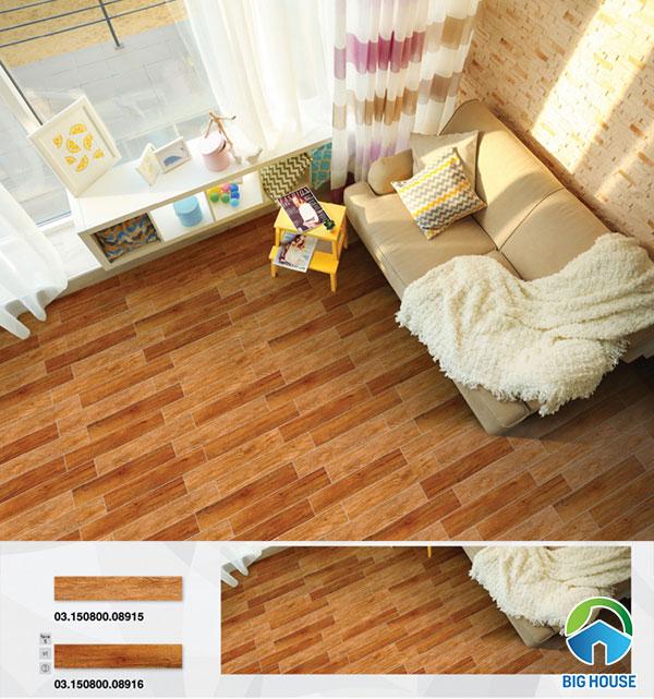 Mẫu gạch giả gỗ Prime 15x60cm 08915 và 08916