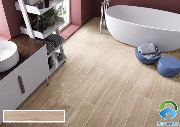 19 Mẫu gạch giả gỗ đẹp ấn tượng và giá rẻ nhất 2021