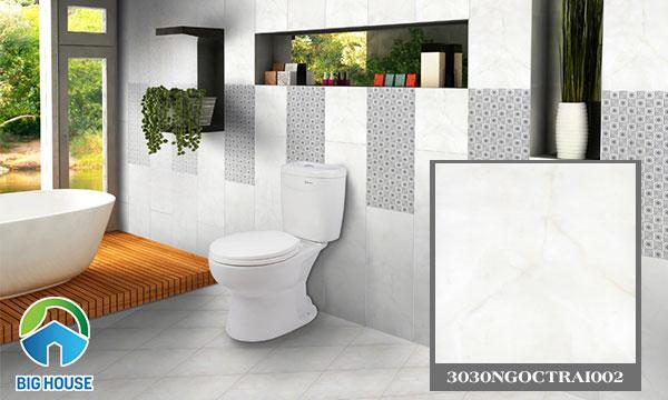 Gạch lát nền nhà vệ sinh Đồng Tâm 3030NGOCTRAI002