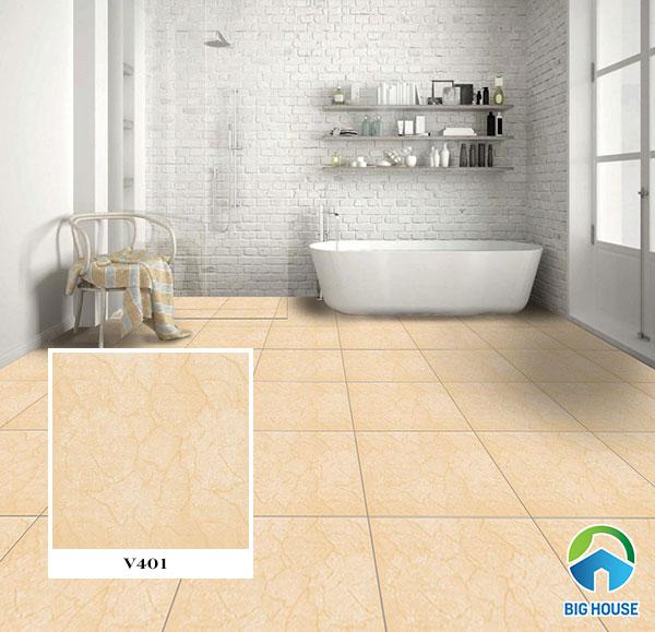 Mẫu gạch lát nền nhà tắm, nhà vệ sinh 40x40cm Viglacera V401