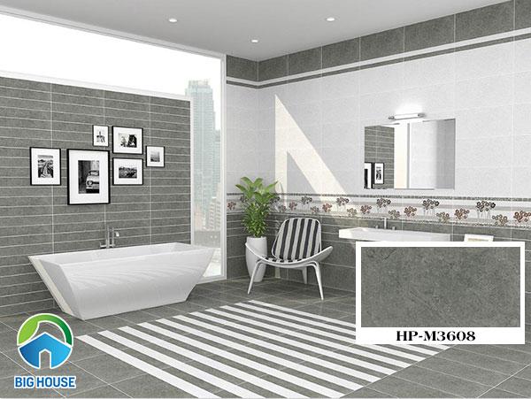 Mẫu gạch lát nhà tắm, nhà vệ sinh Viglacera HP-M3608