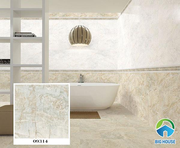 Mẫu gạch lát nền nhà tắm chống trơn prime 09314