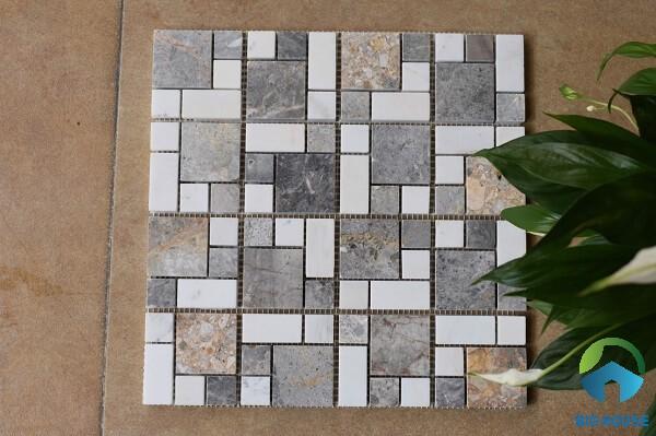 Gạch mosaic đá tự nhiên