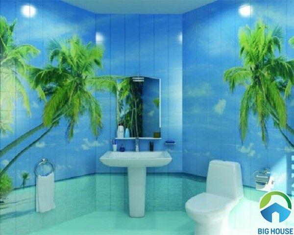 Gạch ốp nhà tắm 3D