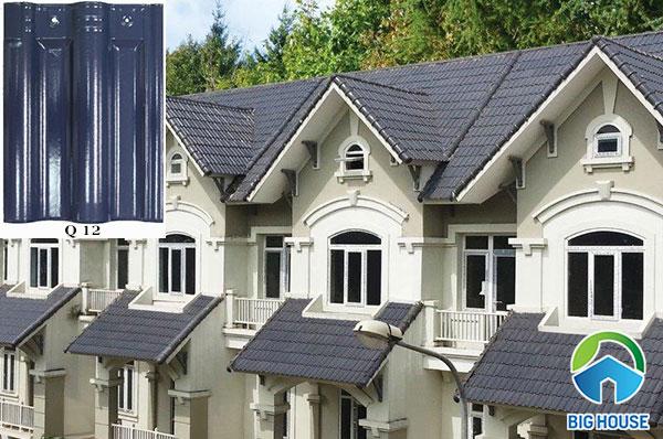 ngói lợp nhà màu xanh Q 12