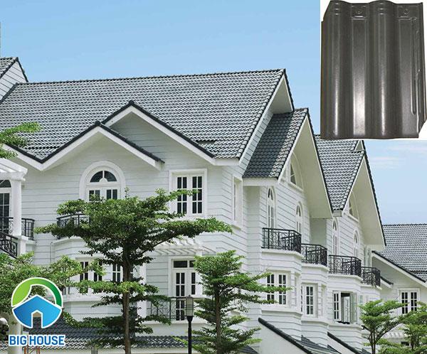 Mẫu ngói màu R03 Viglacera được coi là một trong những loại ngói lợp nhà tốt nhất hiện nay