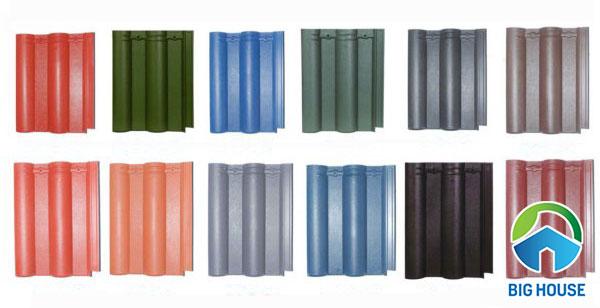Các mẫu ngói lợp nhà tốt nhất theo màu sắc