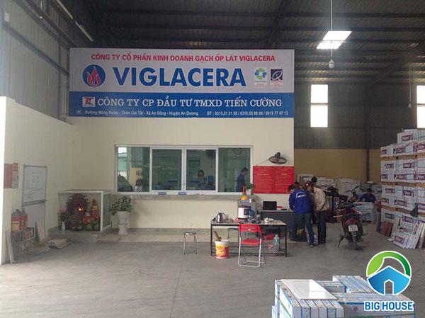 thiết bị vệ sinh Viglacera tại Hải Phòng 1