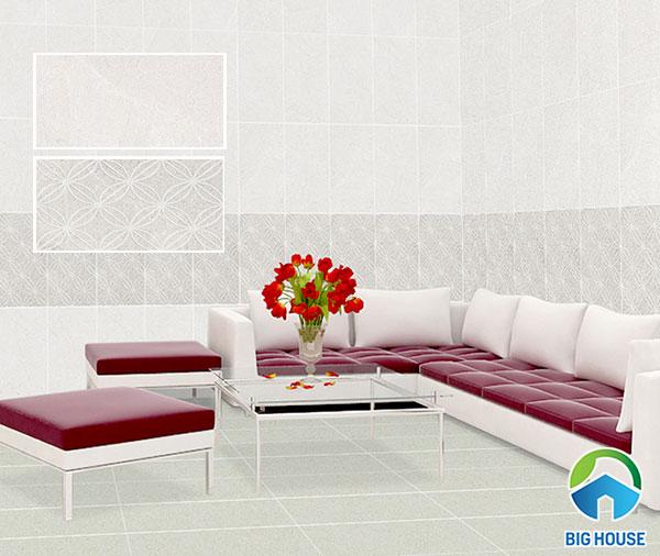 Gạch ốp tường phòng khách cao cấp bạch mã WG36067 - WG36067E1