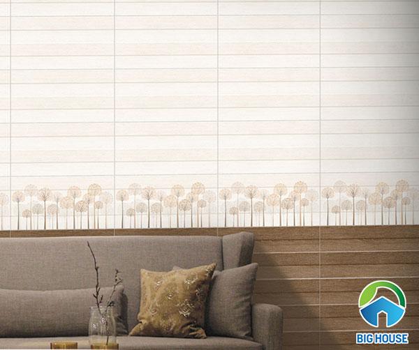 Bộ gạch ốp tường vân gỗ Prime mã 09544 - 09545 - 09543