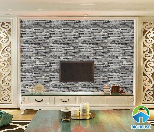 Gạch ốp tường phòng khách 30x60cm Viglacera GW3606