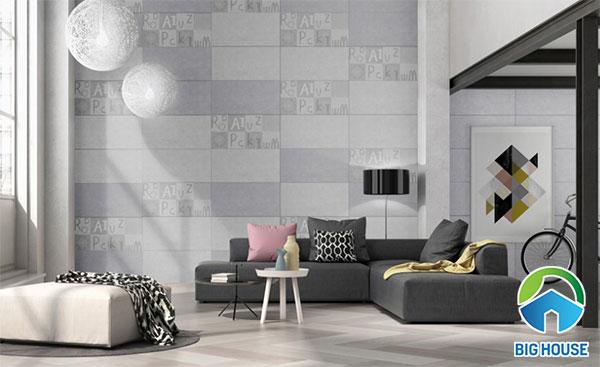 Gạch ốp tường màu xám Đồng Tâm 3060RETRO002 - D3060RETRO001 - 3060RETRO001
