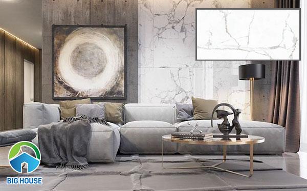 Mẫu gạch vân đá marble ốp phòng khách Prime 8321