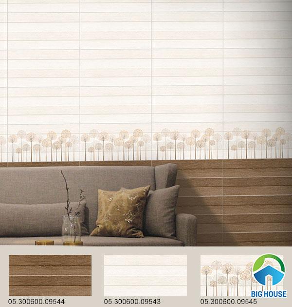 Gạch Prime ốp tường vân gỗ 09544 - 09543 - 09545