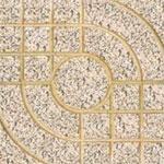 Gạch terrazzo mắt nai vàng