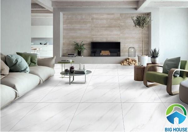 Gạch lát nền Ý Mỹ P88007 bề mặt men bóng, chất liệu granite cao cấp
