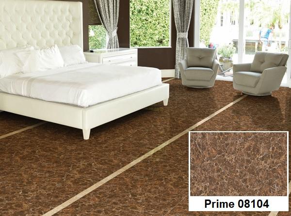 Gạch lát sàn phòng ngủ giả đá Prime 08104