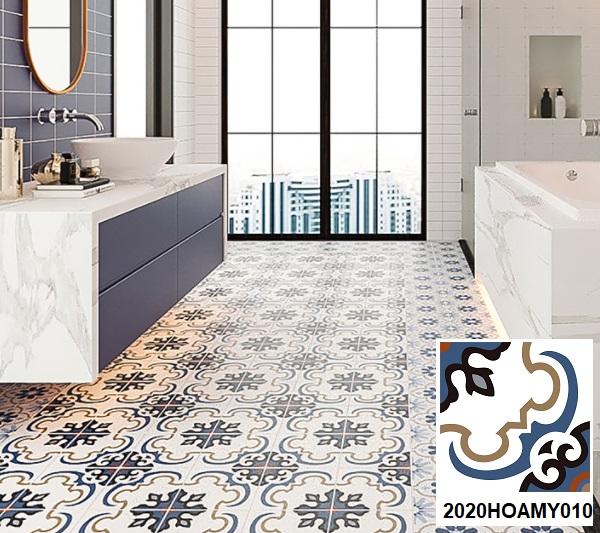 Mẫu gạch lát nền phòng tắm Đồng Tâm 2020HOAMY010