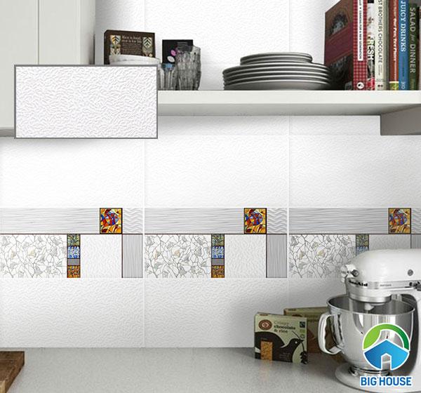 Gạch ốp tường 30x60 màu trắng ECO M-36802