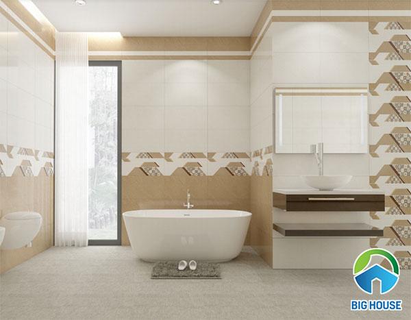 gạch ốp tường 30x60 màu trắng VM36021