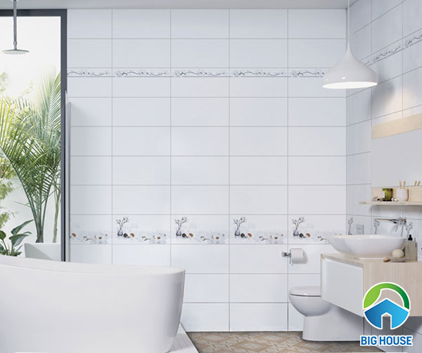 bộ gạch ốp tường 30x60 màu trắng Prime 09939 - 09940 - 09941