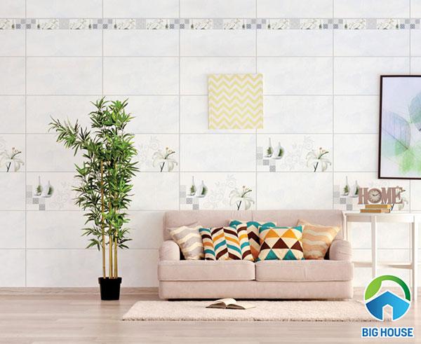 15 Mẫu gạch ốp tường 30×60 màu trắng đẹp kèm báo giá 2021