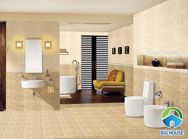 mẫu gạch ốp tường nhà vệ sinh KT3642 - KT3641