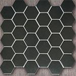 Mẫu gạch mosaic màu đen HM51419