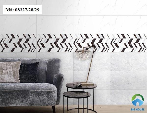 gạch ốp tường phòng khách prime cao cấp
