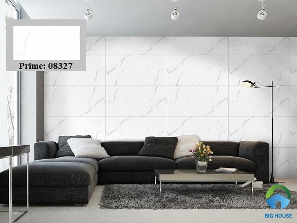 gạch ốp tường phòng khách prime đẹp