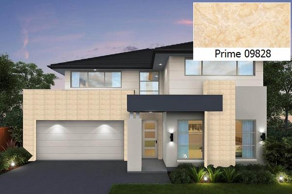 Gạch ốp tường 30x60 Prime 05.300600.09828 màu vàng kem, họa tiết hoa đá