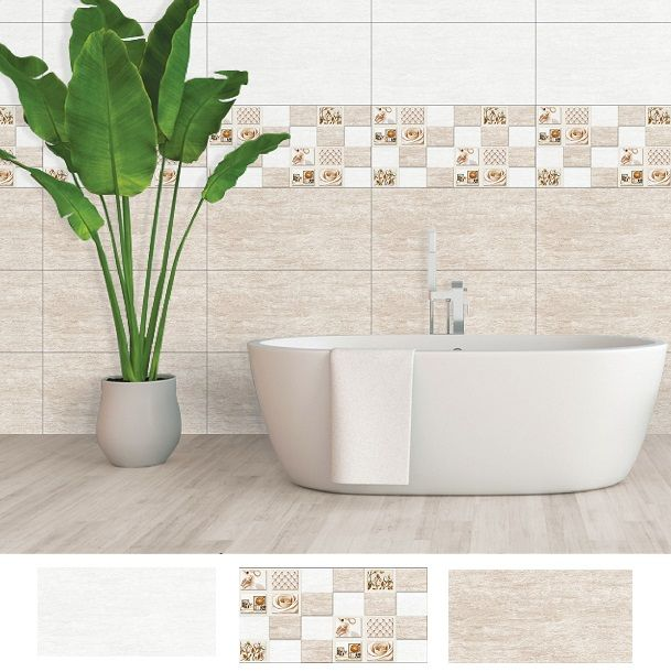 Bộ gạch ốp tường nhà tắm 30x60 Ý Mỹ A36041 - A36041D - A36041N