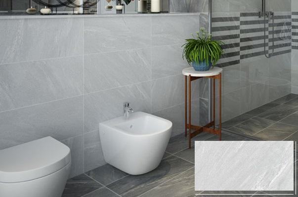 12+ Mẫu gạch ốp nhà vệ sinh màu ghi, xám đẹp xu hướng 2021